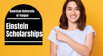 Einstein Scholarships at American University of Yangon, Myanmar