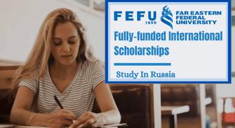 Far Eastern Federal University Fully- moneyed international awards in Russia