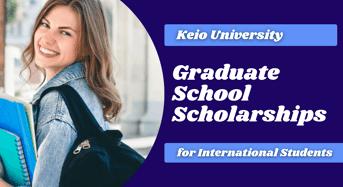 Graduate School Scholarships for International Students at Keio University, Japan