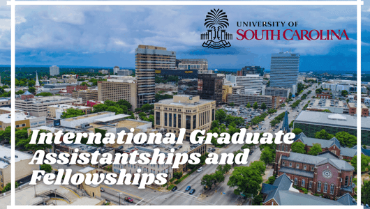 International Graduate Assistantships and Fellowships at University of South Carolina, USA