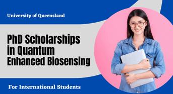 PhD international awards in Quantum Enhanced Biosensing, Australia