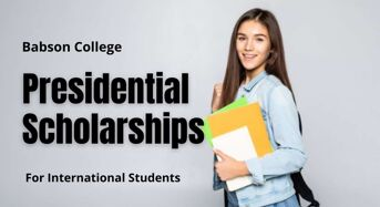 Presidential Scholarships for International Students at Babson College, USA