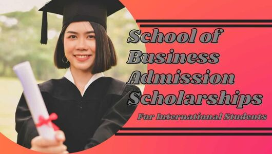 School of Business Admission Scholarships for International Students in Hong Kong