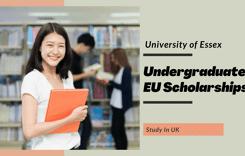 University of Essex Undergraduate EU Scholarships in UK
