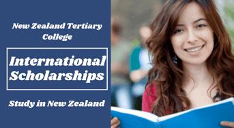 international awards at New Zealand Tertiary College
