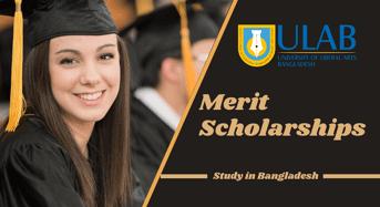 merit awards at University of Liberal Arts Bangladesh