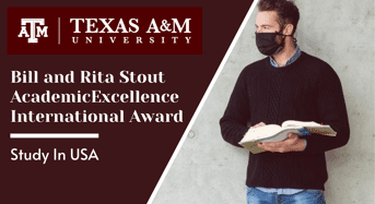 Bill and Rita Stout Academic Excellence International Award in USA