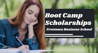 Boot Camp Scholarships at Freetown Business School