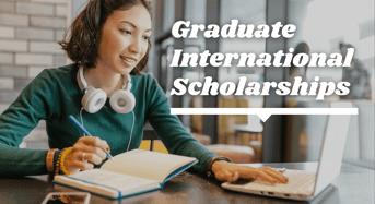 Graduate international awards at Yasar University, Turkey