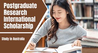 Postgraduate Research International Scholarship in Medicinal Chemistry, Australia