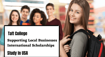 Taft College Supporting Local Businesses international awards in USA