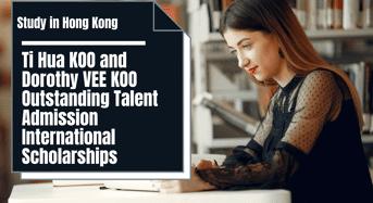 Ti Hua KOO and Dorothy VEE KOO Outstanding Talent Admission international awards, Hong Kong