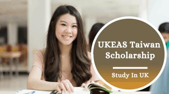 UKEAS Taiwan Scholarship in the UK, 2021