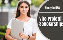 Vito Proietti Scholarships in USA