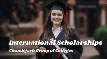 international awards at Chandigarh Group of Colleges, India