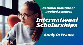 international awards at National Institute of Applied Sciences, France
