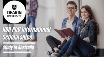 Deakin University HDR PhD international awards in Strategies to Tackle Neurodegeneration, Australia