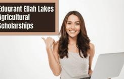 Edugrant Ellah Lakes Agricultural Scholarships in Nigeria