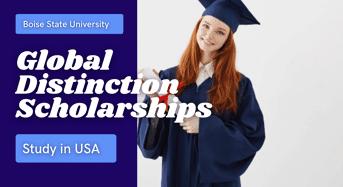 Global Distinction Scholarships at Boise State University, USA
