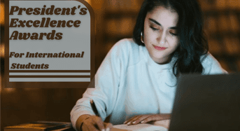 President's Excellence Awards for International Students at Sacred Heart University, USA