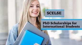 SCELSE PhD Positionsfor International Students in Singapore