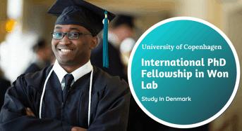 University of Copenhagen International PhD Fellowship in Won Lab, Denmark
