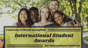 University of Illinois Springfield International Student Awards in USA