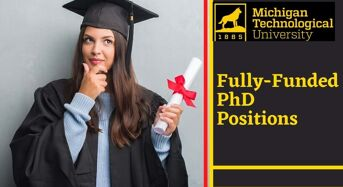 Fully-FundedPhD Positions at Michigan Technological University, USA