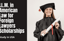 LL.M. in American Law for Foreign Lawyers Scholarships in USA