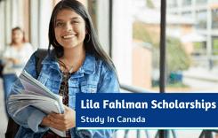 Lila Fahlman Scholarships in Canada