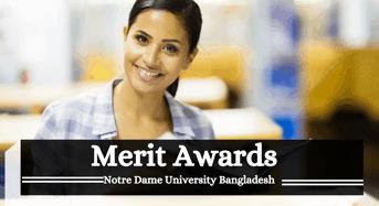 Merit Awards at Notre Dame University Bangladesh