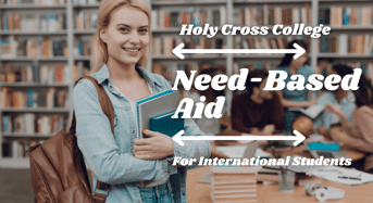 Need-BasedAid for International Students at Holy Cross College, USA