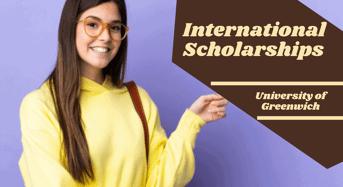 international awards at University of Greenwich, UK