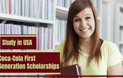 Coca-ColaFirst Generation Scholarships in USA