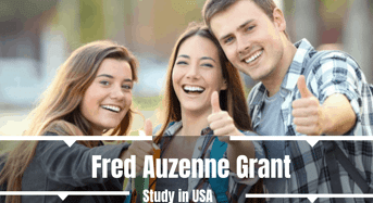 Fred Auzenne Grant in USA