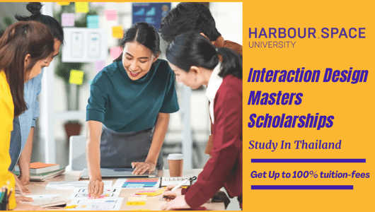 Interaction Design masters programmes for International Students in Thailand