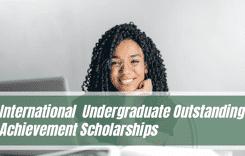 International School Undergraduate Outstanding Achievement Scholarships in UK