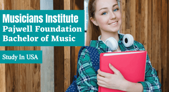 Pajwell Foundation Bachelor of Music in Composition for Visual Media international awards, USA