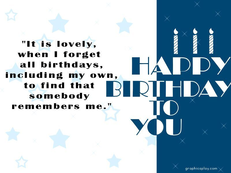 Birthday Greeting With Quotes 1