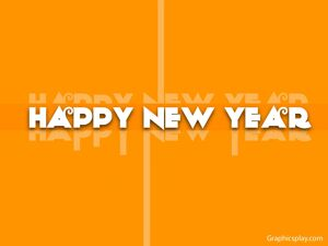 Happy New Year Graphical Greeting
