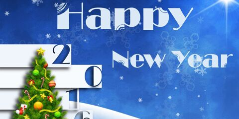 Happy New Year Greeting 2016 7