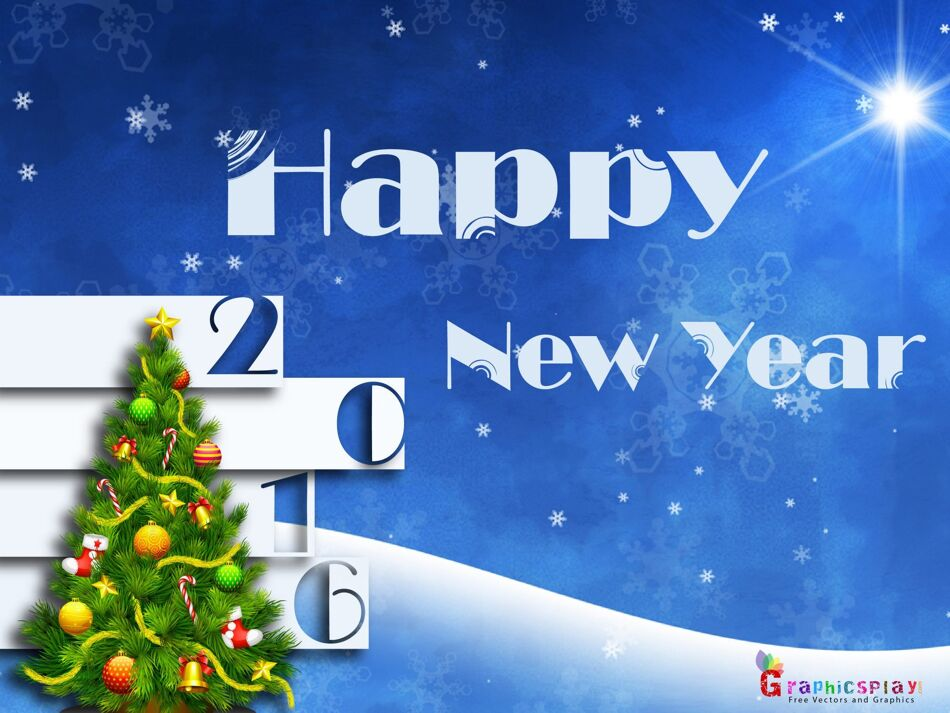 Happy New Year Greeting 2016 1