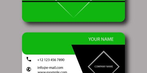 Business Card Design Vector Template - ID 1793 10