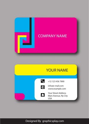 Business Card Design Vector Template - ID 1800 5