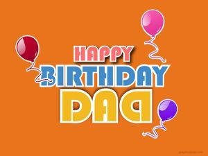 Happy Birthday Dad Greeting 15