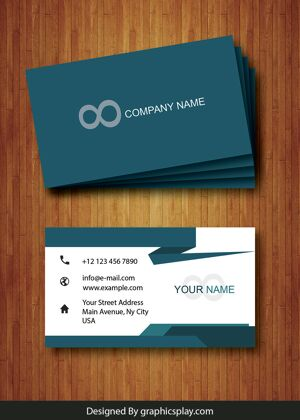 Business Card Design Vector Template - ID 1706 15