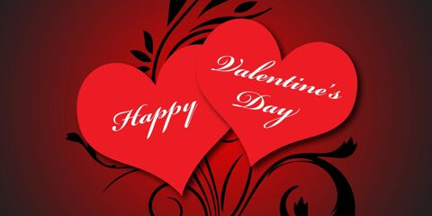 Happy Valentine's Day Greeting with Beautiful Love 8