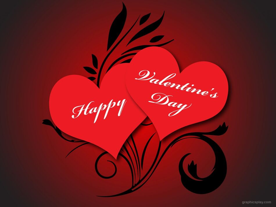 Happy Valentine's Day Greeting with Beautiful Love 1