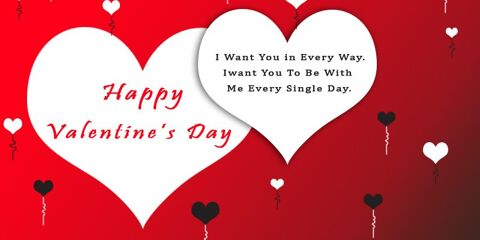 Valentines Day Greeting With Quotes 7