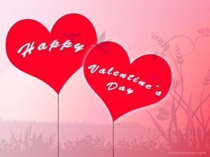 Happy Valentines Day Greeting With Love 8